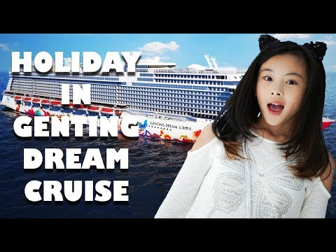 Clarice Cutie Video Liburan Di Kapal Pesiar Genting Dream