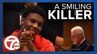 Teen caught smiling during sentencing in murder of Ann Arbor student thumbnail