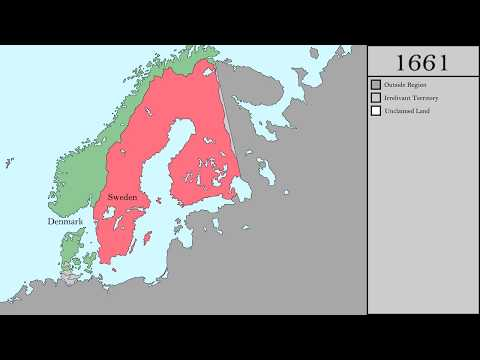 The History of Scandinavia and Finland (1000-2016)