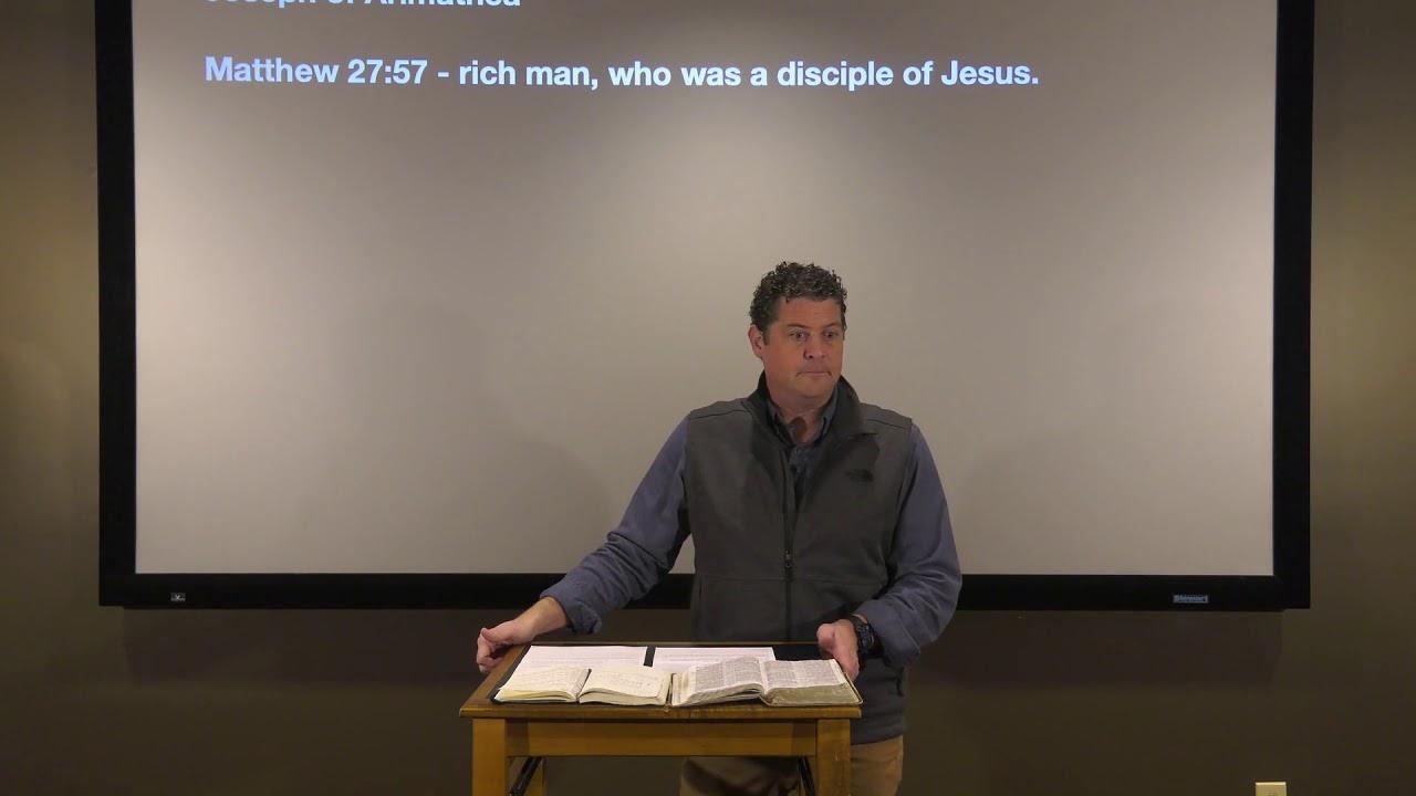 Studies in John - #124: The Secret Disciple