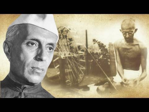 Nehru's speech on Gandhi
