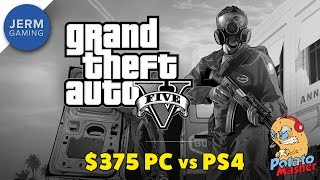 GTA 5 Graphics Comparison - Can a $350 PC Play Grand Theft Auto 5 better than a PS4?