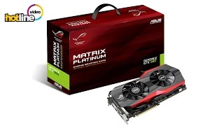 обзор видеокарты ASUS GTX 980 MATRIX Platinum