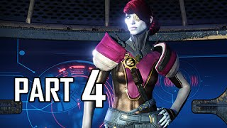 Destiny House of Wolves Walkthrough Part 4 - Silent Fang Story Mission (PS4 Let's Play)