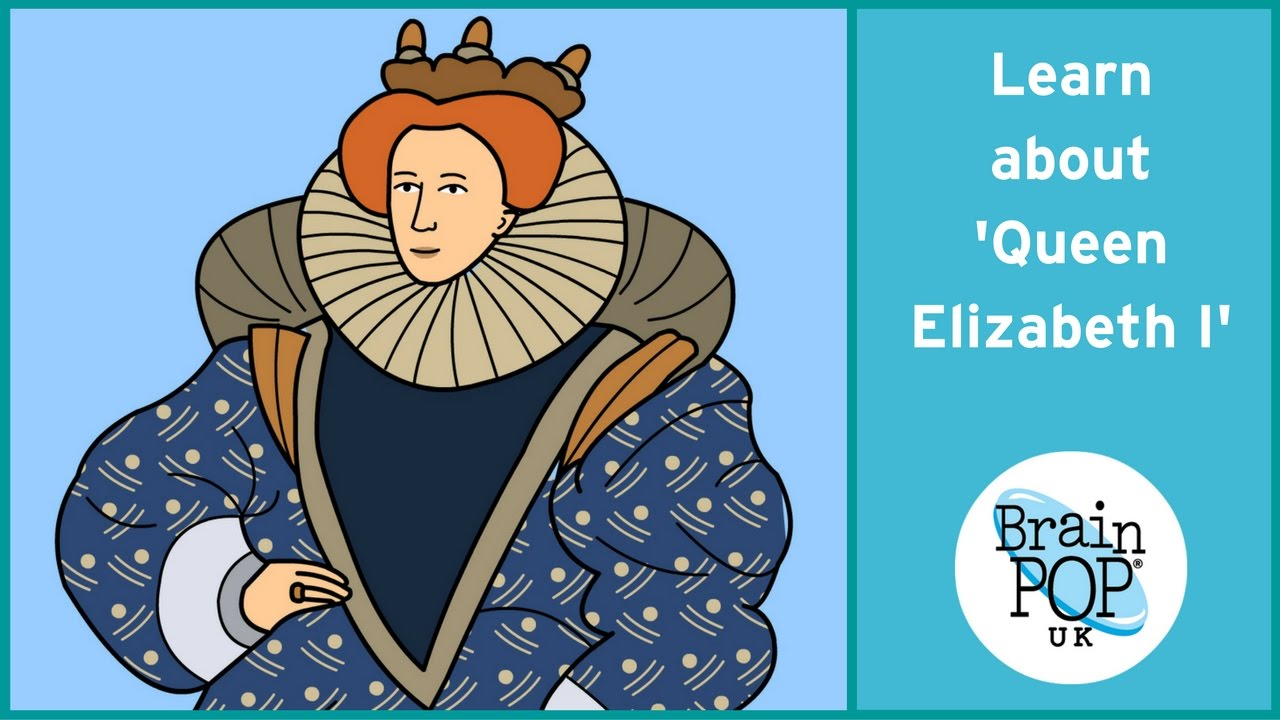 My How Time Flies Queen Elizabeth At 50 >> Brainpop Uk Queen Elizabeth I Youtube