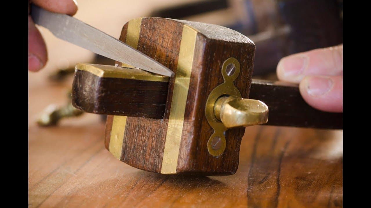 Rehabbing Mortise Gauges Marking Gauges For Woodworking