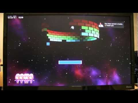 Circle Arkanoid on the PS3