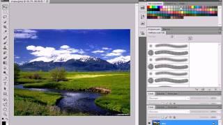 Переключение рабочей среды в Adobe Photoshop CS5 (3/51)