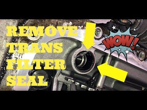 How To Remove Transmission Filter SEAL Without a Puller