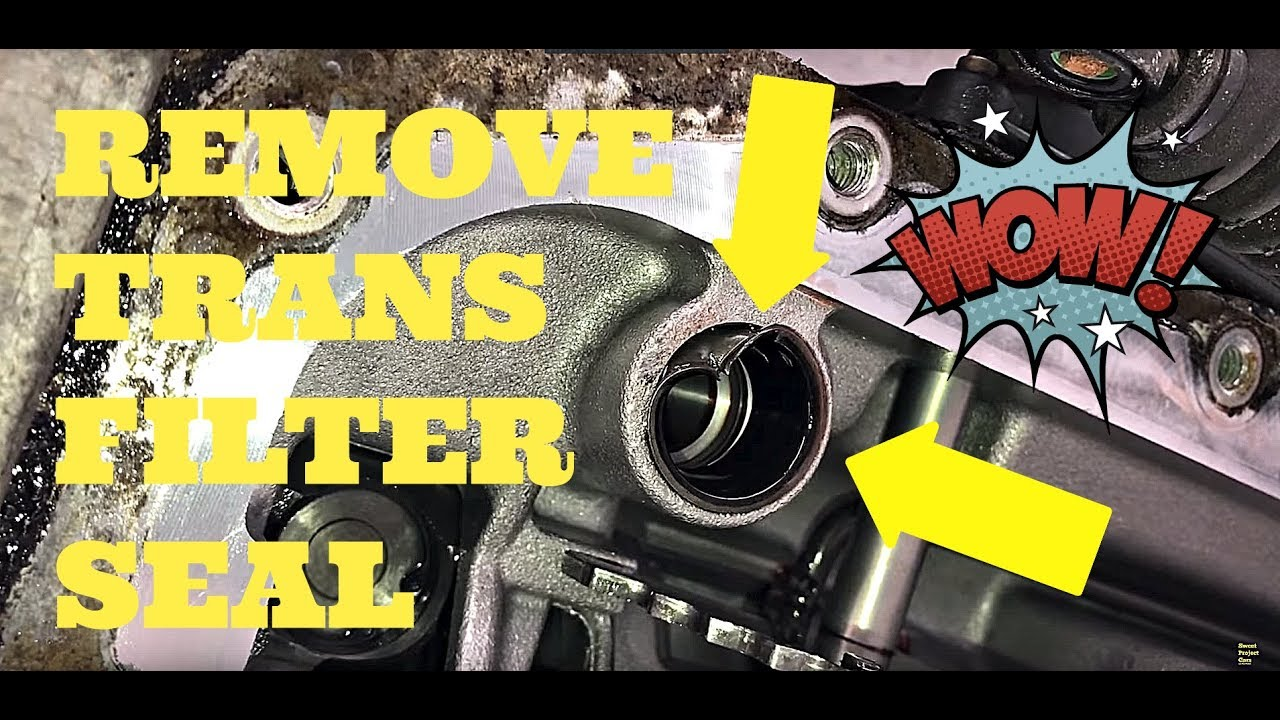 How To Remove Transmission Filter Seal Without A Puller Youtube 94 Buick Century Fuel
