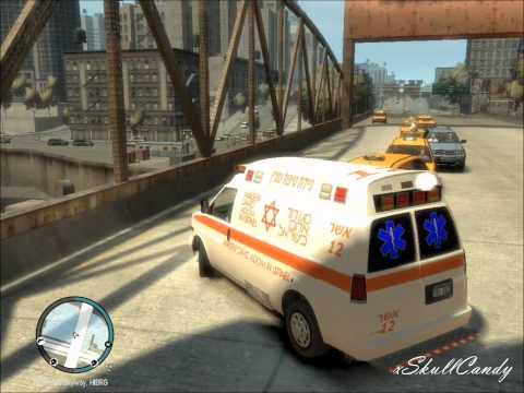 GTA IV - Magen David Adom Responding.