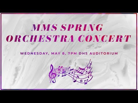 Middlesex Middle School Spring Orchestra Concert