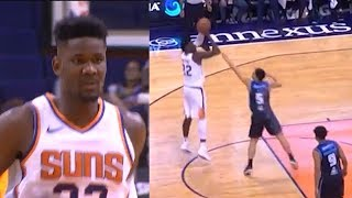 DeAndre Ayton PROVES HE'S THE NEXT SHAQ BUT WITH A JUMPSHOT! Suns vs New Zealand Breakers