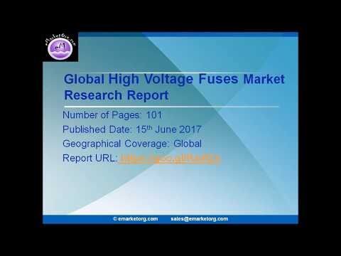 High Voltage Fuses Market Development Trends and Forecast 2022