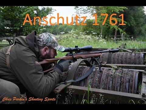 Anschutz 1761, 17 HMR, Thumbhole stock, preliminary notes