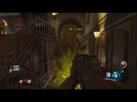 Black Ops III- Kino der Toten - hovering over stairs glitch and infinite death machine