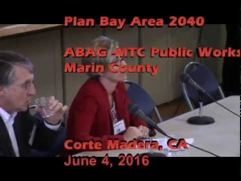 Plan Bay Area Workshop in Marin 6/4/2016