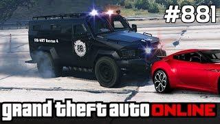 GTA 5 PC Online Po Polsku [#881] Policja TARANUJE /z Bertbert