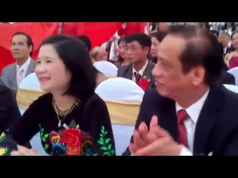 Diễu hành 60 năm ngày thành lập trường THPT TP Cao Bằng