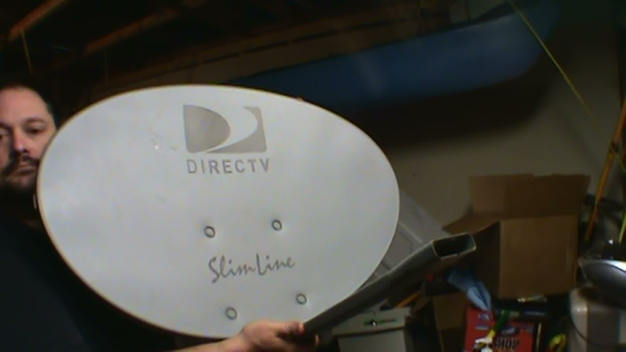 scrapping a satellite dish for steel aluminum and gold youtube