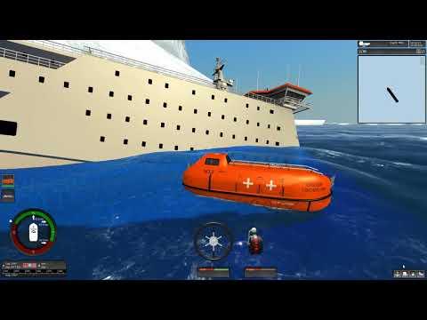 Sinking The Pride of Rotterdam  | Ship Simulator Extremes Sinks Like the Titanic