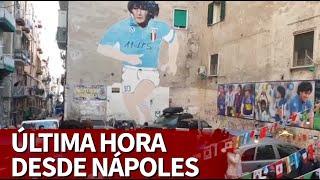 MUERE MARADONA | Última hora desde Nápoles sobre el adiós a Maradona