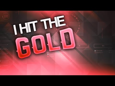 I HIT THE GOLD (CS:GO GAMBLING)
