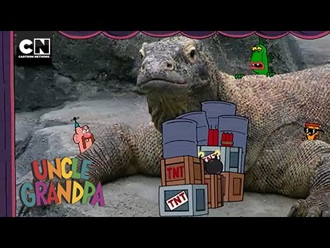 Movie Explosions I Uncle Grandpa I Cartoon Network
