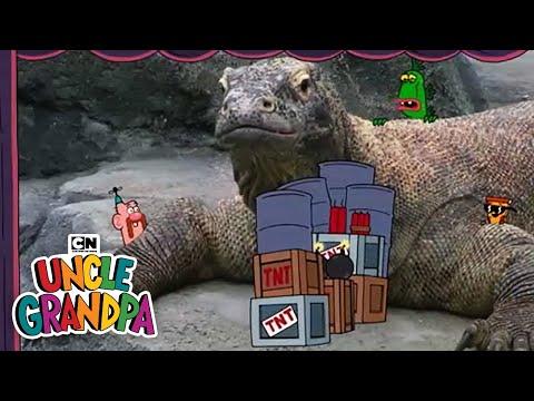 Movie Explosions I Uncle Grandpa I Cartoon Network