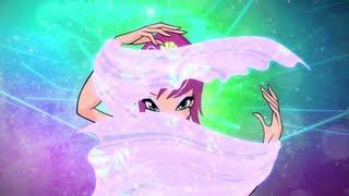 Winx Club:Tecna Harmonix Full Transformation! HD!