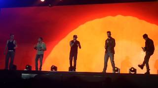 Backstreet Boys - Shape of my heart live in Minsk, Belarus 24.02.2014