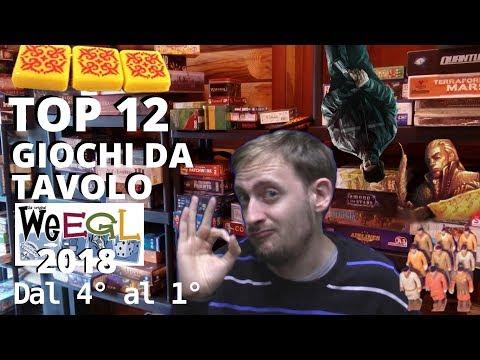 Top 12 Giochi da tavolo WEEGL 2018 ! [Dal 4° al 1°]