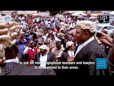 Separatist Crisis in Cameroon