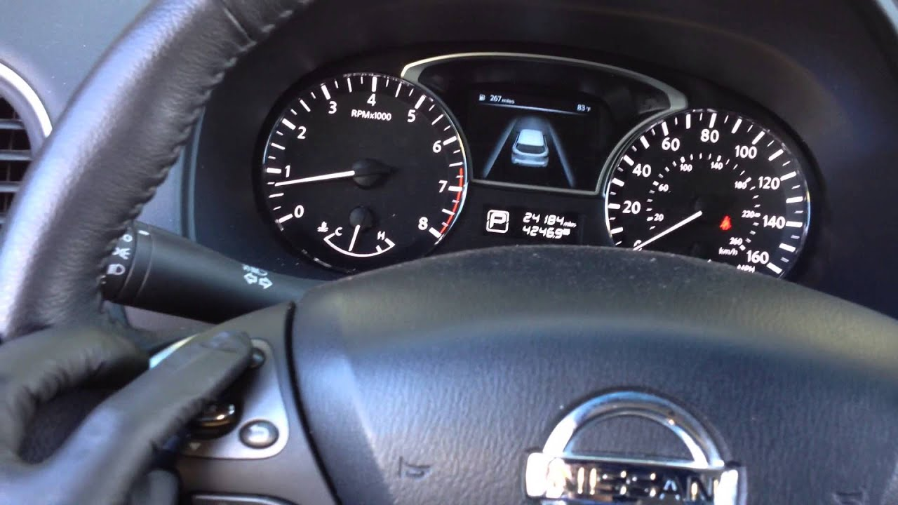 How To Reset The Maintenance Light On A Nissan Youtube