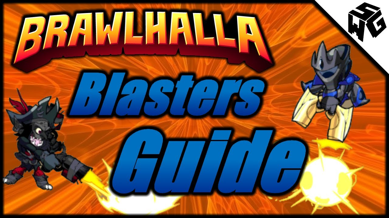 Brawlhalla Blasters Guide/Tutorial - Strings, Combos, Edge Guarding and  More!
