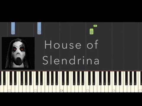Slendrina Themes On Piano - Piano Tutorial