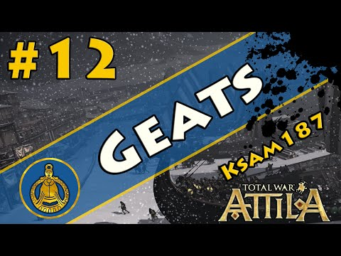Total War Attila:Viking ForeFathers-The Geats Part 12 Hello Italy
