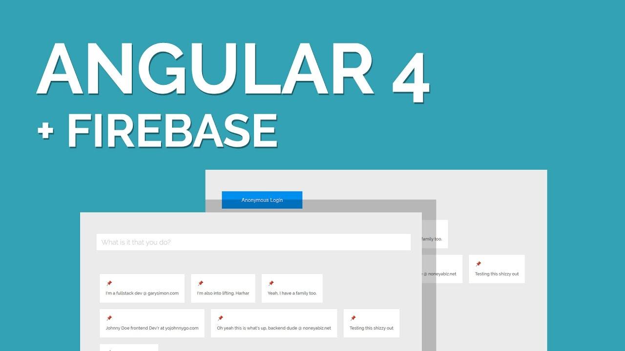 Angular 4 Firebase Tutorial: Make a Simple Angular 4 App