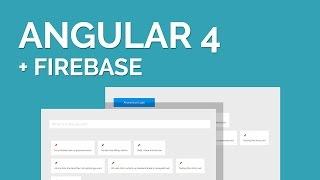 A Simple Angular 4 Firebase Tutorial