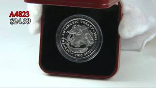 2009 Antarctic Treaty Nickel Coin