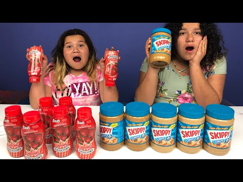 Don't Choose the Wrong Peanut Butter VS Jelly Slime Challenge