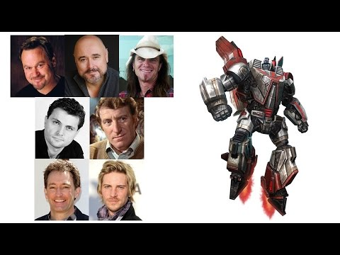 Comparing The Voices - Jetfire