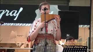 Sarba lui Pompieru: Sescu Iuliana, nai + orchestra Rapsozii Chisinaului