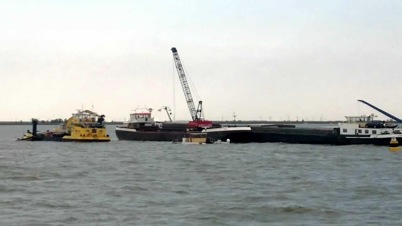 amandus schip gezonken op ijselmeer