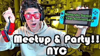 My Nintendo Switch Anniversary Meetup/Party in NYC ANNOUNCEMENT!!! thumbnail