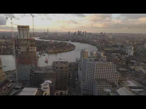 Inside Britain's 2nd Tallest Building - One Canada Square (Canary Wharf)