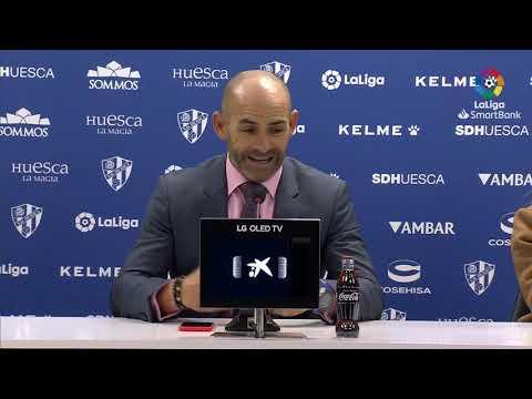 Rueda De Prensa De  Paco Jémez Tras El SD Huesca Vs Rayo Vallecano (0-2)