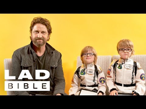 Little Lads  Geostorm's Gerard Butler On Women, Motorbikes And Scottish Accents