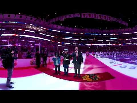 Blackhawks Training Camp Festival 360 Anthem