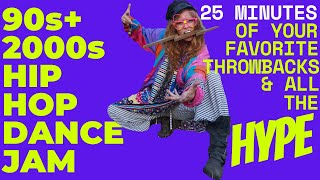 25 Minute Fun Throwback Hits 90s + 2000s Hype Hip Hop Cardio Dance Jam